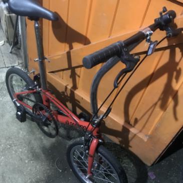 """DaeWoo 16"""" Wheels Folding Bike. Was £85 Now £65"""