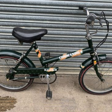 Vintage Raleigh Commando in Army Colours. Was £195 Now £175
