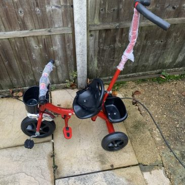 Brand New Toddler Trike (Red) with Parental Control. £35