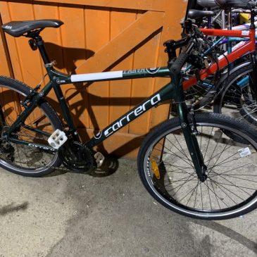 "Carrera Parva Ltd 20"" Frame Hybrid Bike. £175"