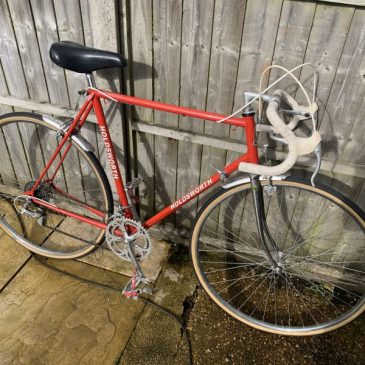 "Holdsworth Vintage Gents  24"" Frame Road Bike. Was £225 Now £200"