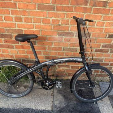 Dawes Metropolitan Alloy Folding Bike. £175