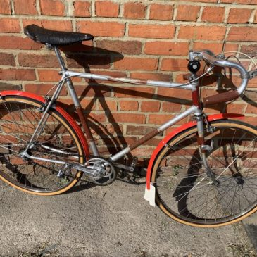 """Vintage 1949 Royal Enfield 22.5"""" Frame Fixie Bike. Was £350 Now £250"""