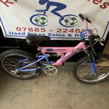 "Hawk Tina 20"" Wheel Girls Bike. £50"