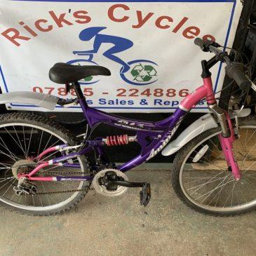 "Ammaco Palma 18"" Frame Mountain Bike. £100"