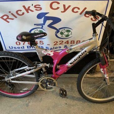 """Utopia Karina 18"""" Frame Ladies Mountain Bike. £100"""