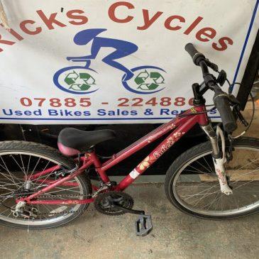 """Apollo Entice 24"""" Wheel Girls Mountain Bike. £50"""