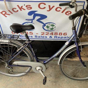 "Peugeot Natural City 18"" Frame Ladies City Bike. £125"