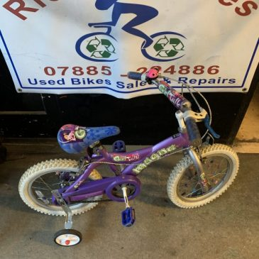 "Magna GirlTalk 16"" Wheel Girls Bike. £35"