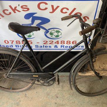 WW2 BSA War Time Finish Ladies Bike. £275