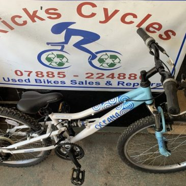 "Apollo Oceana 12"" Frame Girls Mountain Bike. £75"