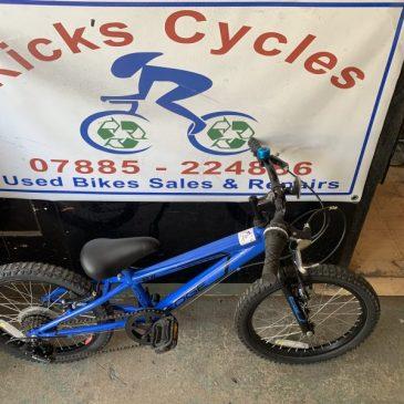 "Piranha Edge 18"" Wheel Boys Mountain Bike. £50"