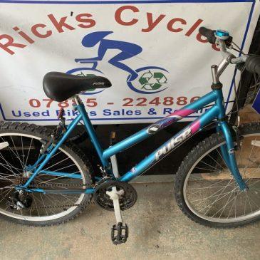 "Pulse VF6 19"" Frame Ladies Mountain Bike. £85"