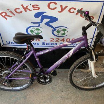 """Apollo Twilight 17"""" Frame Mountain Ladies Bike. £125"""