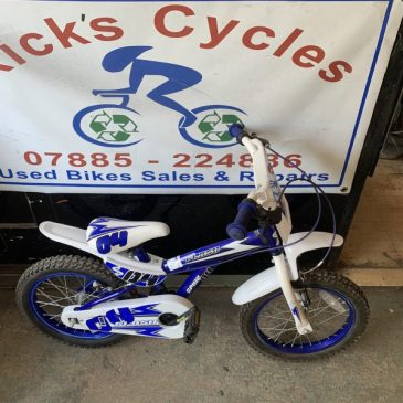 "Spkie 04 Flash 16"" Wheel BMX Bike. £30"
