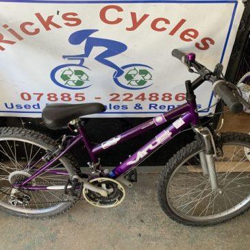"""Pearl 14"""" Frame Girls Mountain Bike. £65"""