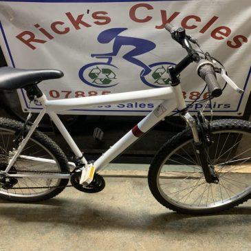 "Gents 20"" Frame Mountain Bike. £75"
