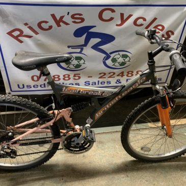 "British Eagle Trail Breaker 18"" Frame Mountain Bike. £80"