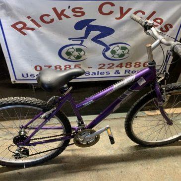 """Raleigh Vixen 16"""" Frame Mountain Bike. £85"""