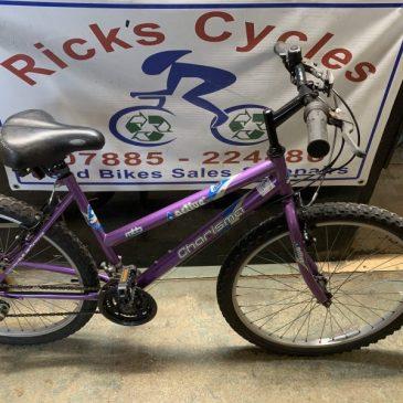 "Active Charisma 19"" Frame Ladies Mountain Bike. £95"