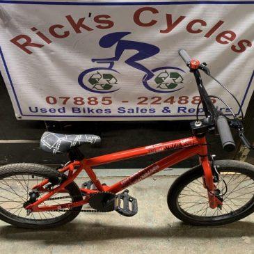 """X-Rated Dekka 20"""" Wheel BMX Bike. £50"""
