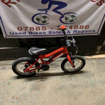 "Ridgeback MX14 Terrain 14"" Wheel Bike. £40"