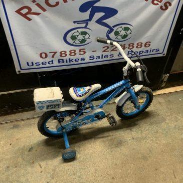 """Apollo Police 14"""" Wheel Bike. £30"""