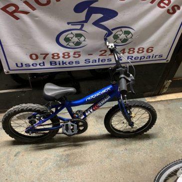 "Ridgeback MX16 Terrain 16"" Wheel Bike. £55"