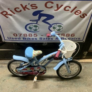 "Apollo Cherry Lane 16"" Wheel Girls Bike. £35"