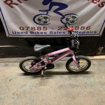 "Ridgeback Honey 14"" Wheel Girls Bike. £40"