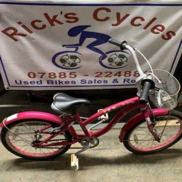 "Our Generation 20"" Wheel Girls Bike. £50"