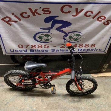 "Claud Butler Blast 16"" Wheel Bike. £50"