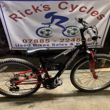 """Apollo FS24 24"""" Wheel Bike. £75"""