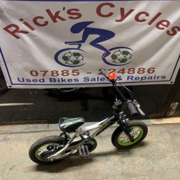 "Giant Animated 12"" Wheel Bike. £40"