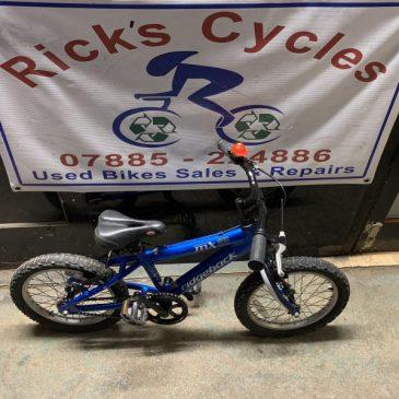 "Ridgeback MX16 Terrain 16"" Wheel Bike. (No3) £50"