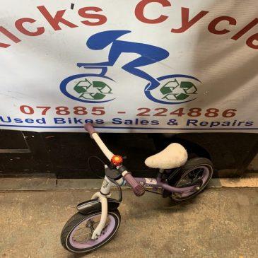 "Avigo Street Girl 12"" Wheel Girls Balance Bike. £15"