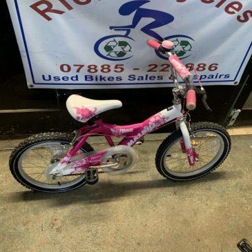 "Malibu Hibiscus 18"" Wheel Girls Bike. £50"