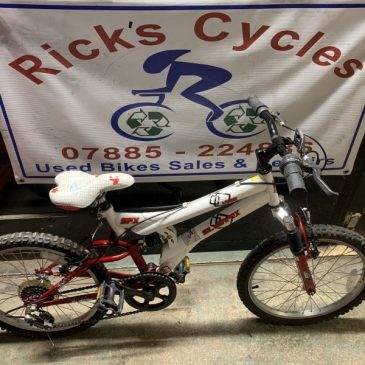 "SilverFox Vibe 20"" Wheel Kids Bike. £60"