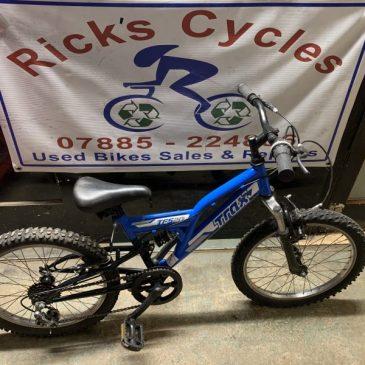 """Trax TFS 20 20"""" Wheel Kids Bike. £50"""