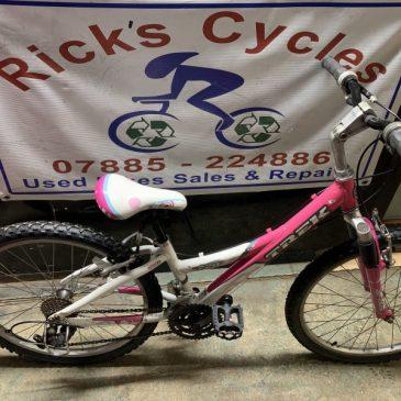 "Trek MT220 24"" Wheel Girls Bike. £95"