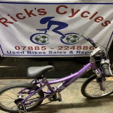 "Trek 60 Mountaintrack 20"" Wheel Girls Bike. £75"