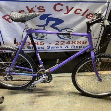 """Retro Raleigh Mirage 23"""" Frame Mountain Bike. £195"""