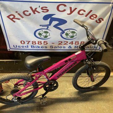 "Hummer H20 20"" Wheel Girls Mountain Bike. Was £75 NOW £60"