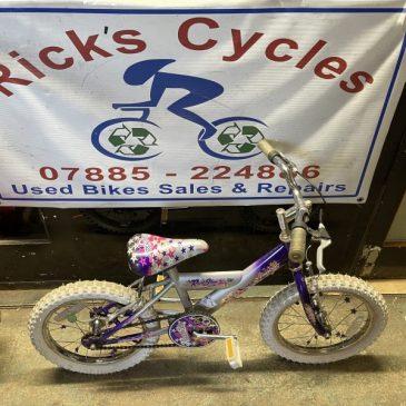 "Concept RockStar 16"" Wheel Girls Bike. £30"