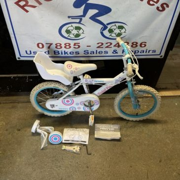 "Peddle Pals Harmony 16"" Wheel Girls Bike. £40"