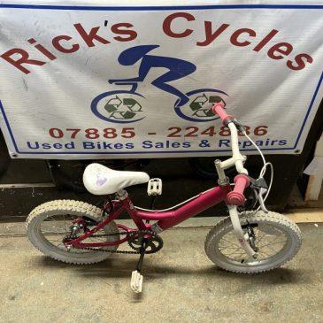 """Dawes 16"""" Wheel Girls Bike. £50"""
