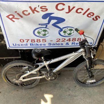 """Saracen Hoax 20"""" Wheel Mountain Bike. £75"""