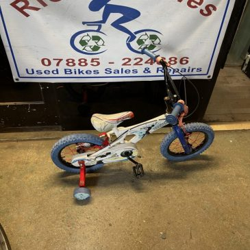 "Records Breaker 14"" Wheel Bike. £20"