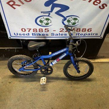 """Ridgeback MX16 16"""" Wheel Bike. £50"""