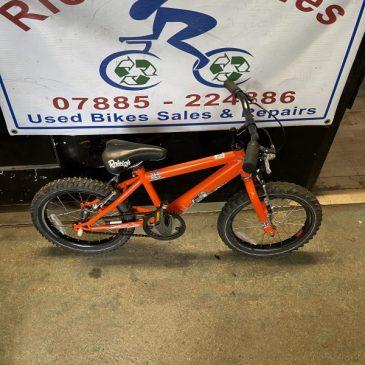 "Raleigh MX16 16"" Wheel Bike. £40"